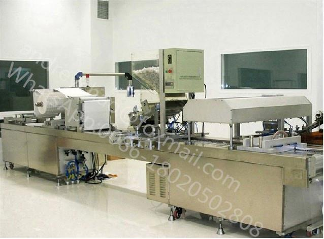 Medical Disposable Syringe Plastic Film Paper Thermoforming Soft Blister Packing Machine
