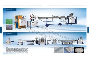 High Precision Medical PVC PE Nylon TPU Reinforced Braided Pipe Extruder Machine Line